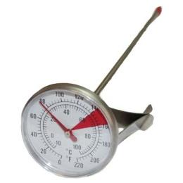 Термометр аналоговый 22см с клипсой