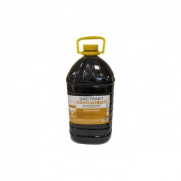 """Жидкий неохмеленный солодовый экстракт """"Пшеничный"""",3,9 кг"""