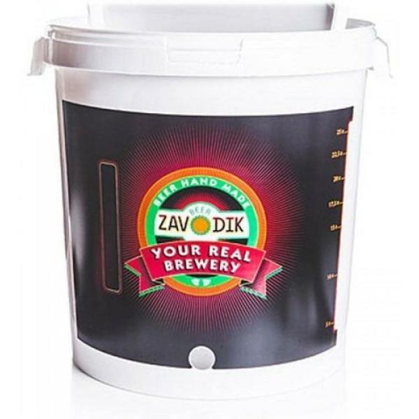 Бак для брожения Beer Zavodik с отв, 33 л.