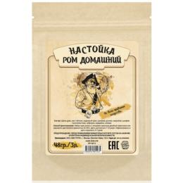 """Набор для настойки """"Ром домашний"""", 48 гр. на 3 литра"""