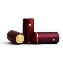Термоколпачек для винных бутылок 1 шт. Бордо металлик