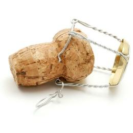 Пробка с проволкой для шампанского,под дерево,1 шт