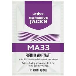 Винные дрожжи Mangrove Jacks MA33, 8 гр