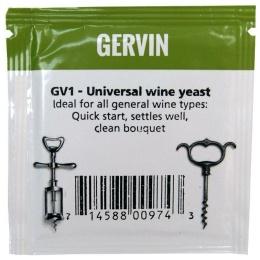 Винные дрожжи Gervin GV1 Universal