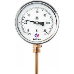 Термометр биметалический , радиальный