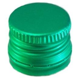 Алюминиевый колпачок 18*12 (зеленый)