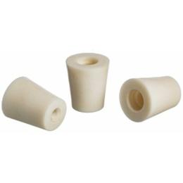 Резиновая пробка коническая с отверстием под гидрозатвор (38x30,h40)