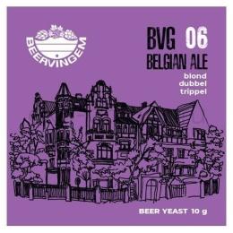 """Дрожжи Beervingem для бельгийского пива """"Belgian Ale BVG-06"""", 10 гр."""
