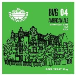 """Дрожжи Beervingem для охмеленного пива """"American Ale BVG-04"""", 10 гр."""