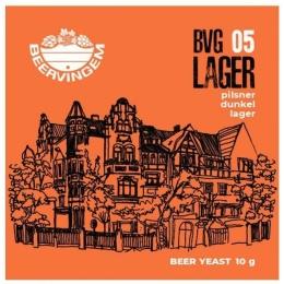 "Дрожжи Beervingem для светлого пива ""Lager BVG-05"", 10 гр."