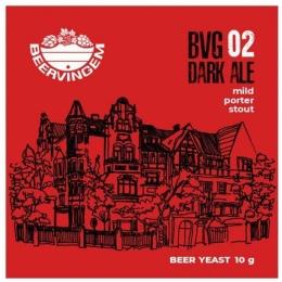 """Дрожжи Beervingem для темного пива """"Dark Ale BVG-02"""", 10 гр."""