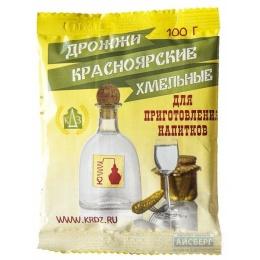Дрожжи Красноярские Хмельные 100 гр