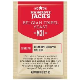 Дрожжи Mangrove Jacks Belgian Tripel M31, 10 гр