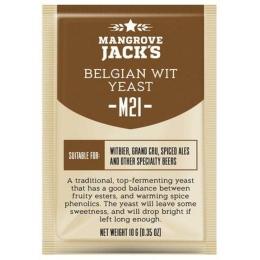 Дрожжи Mangrove Jacks Belgian Wit M21, 10 гр