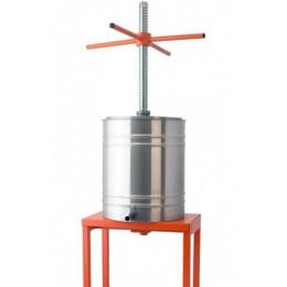 Пресс винный фруктово-ягодный напольный 14л(трапецеидальная резьба)