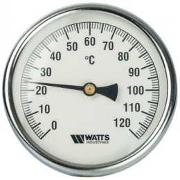 Термометр Watss биметалический гладкий
