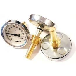 Термометр Watss биметалический с резьбой