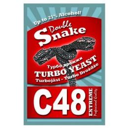 Турбо дрожжи Double Snake Turbo Yeast C48, 130 гр.