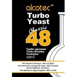 """Дрожжи спиртовые Alcotec """"Turbo Yeast Classic 48"""", 130 гр"""