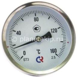 Термометр биметалический, осевой, БТ-31.211