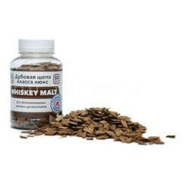 Щепа дубовая Whiskey Malt, (Франция), 50 гр.