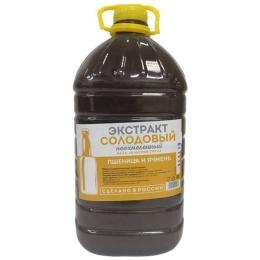 """Жидкий неохмеленный солодовый экстракт """"Пшеница и ячмень"""",3,9 кг"""