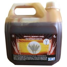 """Неохмеленный солодовый экстракт """"Пшеничный дистиллят"""",4 кг"""