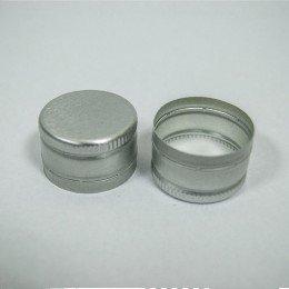 Алюминиевый колпачок 28*18 (серебро)
