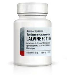 Дрожжи Lalvin EC1118, банка 10 гр.